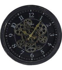 zegar ścienny koła zębate