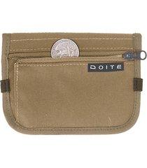 billetera d wallet beige doite