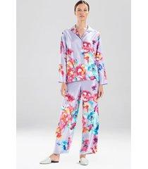 natori peonia pajamas, women's, size l sleep & loungewear
