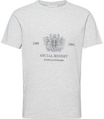 artwork tee t-shirts short-sleeved vit han kjøbenhavn