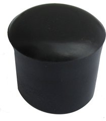 ponteira para móveis externo em pvc 3/4'' preto