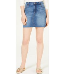 celebrity pink juniors' denim mini skirt