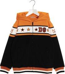 dolce & gabbana star logo hoodie