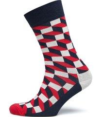 filled optic sock underwear socks regular socks multi/mönstrad happy socks