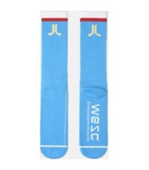 wesc logo single pack conspiracy socks