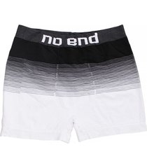 boxer blanco no end rayas