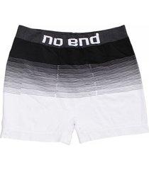 boxer blanco no end rayas
