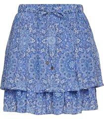 blossom skirt kort kjol blå odd molly