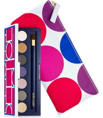 receive a free gift of 7 pure color eyeshadows and travel pouch with $70 estee lauder purchase