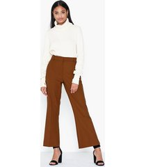 selected femme slfada mw cropped flared pant b chinos
