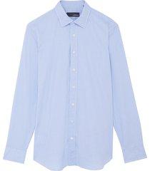 dante' spread collar cotton shirt