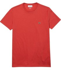 lacoste crater t-shirt koraal