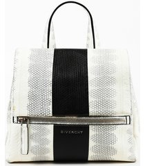 givenchy small pandora pure watersnake shoulder bag
