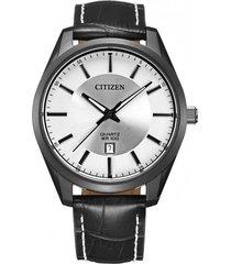 reloj classic quartz negro citizen