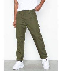 lee jeans carpenter olive byxor green