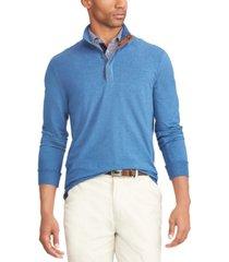 polo ralph lauren men's water-repellent terry pullover