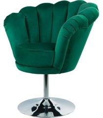 fotel butelkowa zieleń tapicerowany fu-100