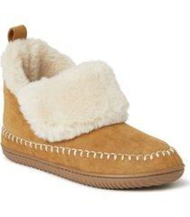 dearfoams alpine women's moritz bootie slippers