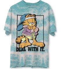 junk food men's garfield short sleeve tee shirt
