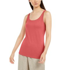 eileen fisher scoop neckline tank top