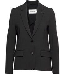 punto milano stretch blazer blazers casual blazers svart calvin klein