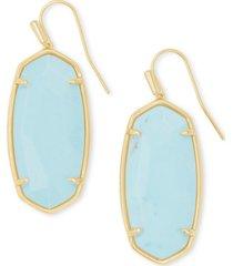 kendra scott faceted illusion stone drop earrings
