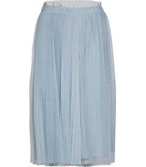 premessa knälång kjol blå max&co.