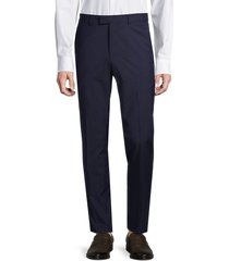 nhp men's pinstripe dress suit separates trousers - navy - size 44