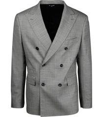 tonello double-breasted pie de poul jacket