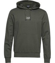 sweatshirt hoodie grön ea7