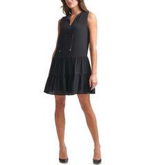 tommy hilfiger drop-waist shift dress