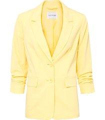 blazer con maniche 7/8 (giallo) - bodyflirt