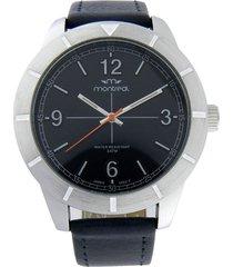 reloj azul montreal cuero