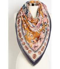 maurices womens paisley print square scarf