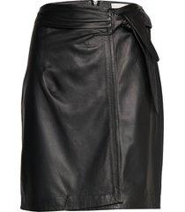 cami skirt kort kjol svart minus