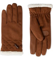 isotoner signature women's smartdri microsuede touchscreen gloves