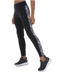calça legging puma feel it 7/8 - feminina - preto/branco
