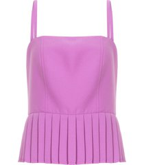 blusa feminina marcelle - roxo