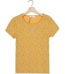 camiseta amarillo-negro mng