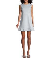 redvalentino women's embroidered dress - astro - size 40 (8)