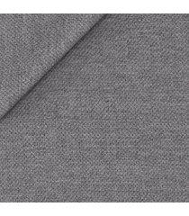 giacca da uomo su misura, marzotto, grigio fumo, quattro stagioni | lanieri