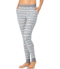 cuddl duds women's stretch thermal leggings
