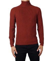 rib col pullover