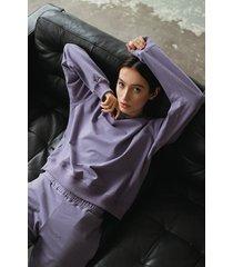 bluza fioletowa