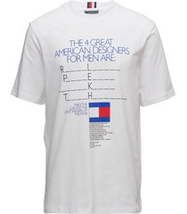 be bold jersey tee, t-shirts short-sleeved vit tommy hilfiger