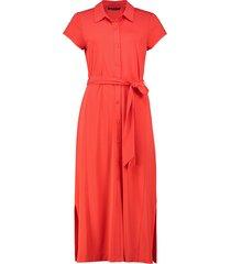 202floor jurk tricot doorknoop