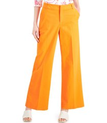 charter club wide-leg trousers, created for macy's