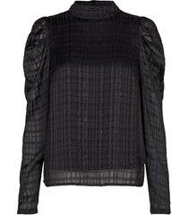 blouse florentine  zwart