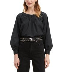 levi's lily long-sleeve top
