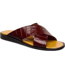 sandals 4172 shoes summer shoes flat sandals röd billi bi